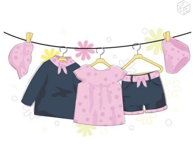 Braderie vêtements et puériculture pour s'équiper
